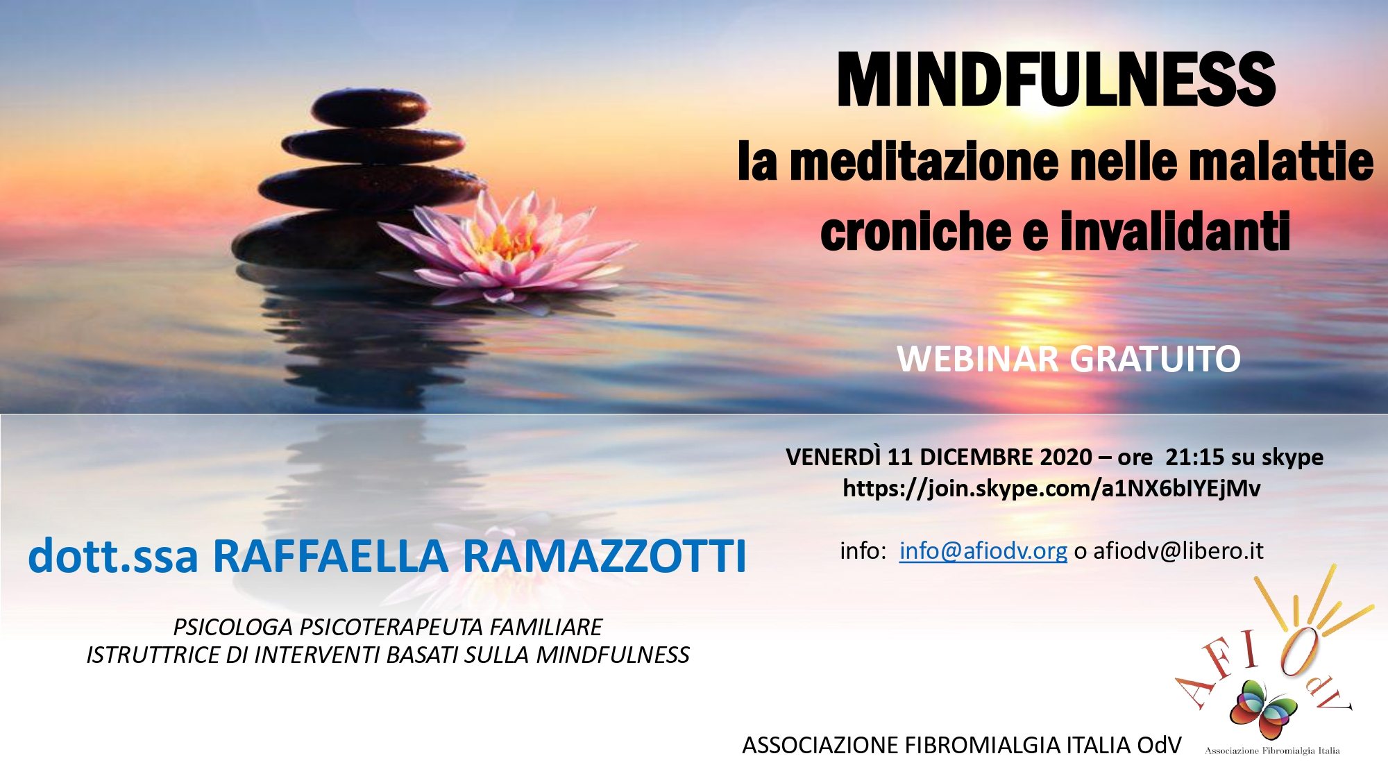MINDFULNESS la meditazione nelle malattie croniche e invalidanti